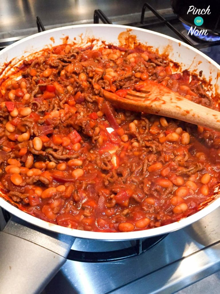 Baked Bean Bolognese   Slimming & Weight Watchers Friendly