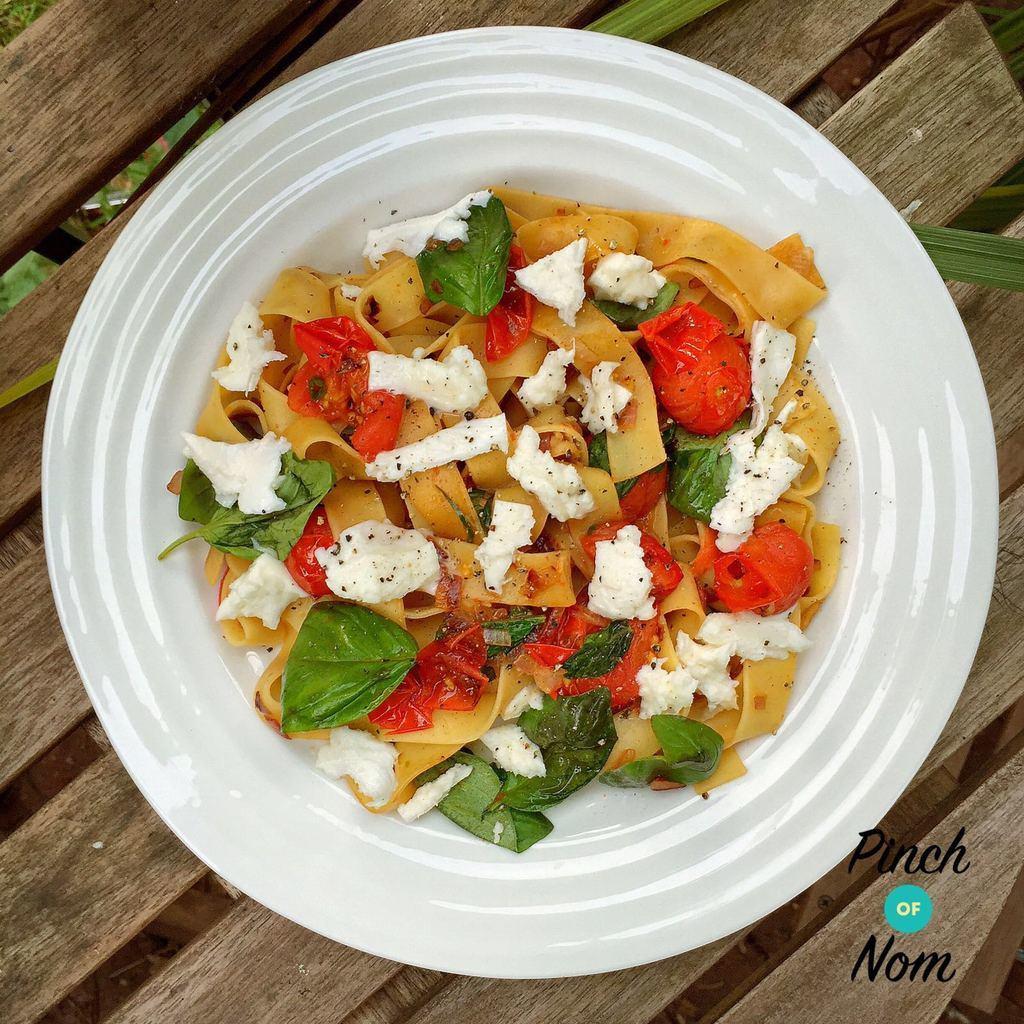 Caprese Pasta | Slimming & Weight Watchers Friendly