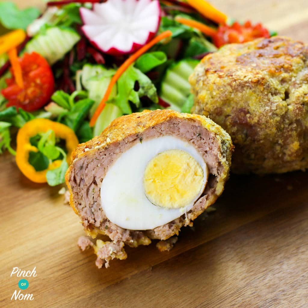 Low Syn Scotch Eggs | Slimming World