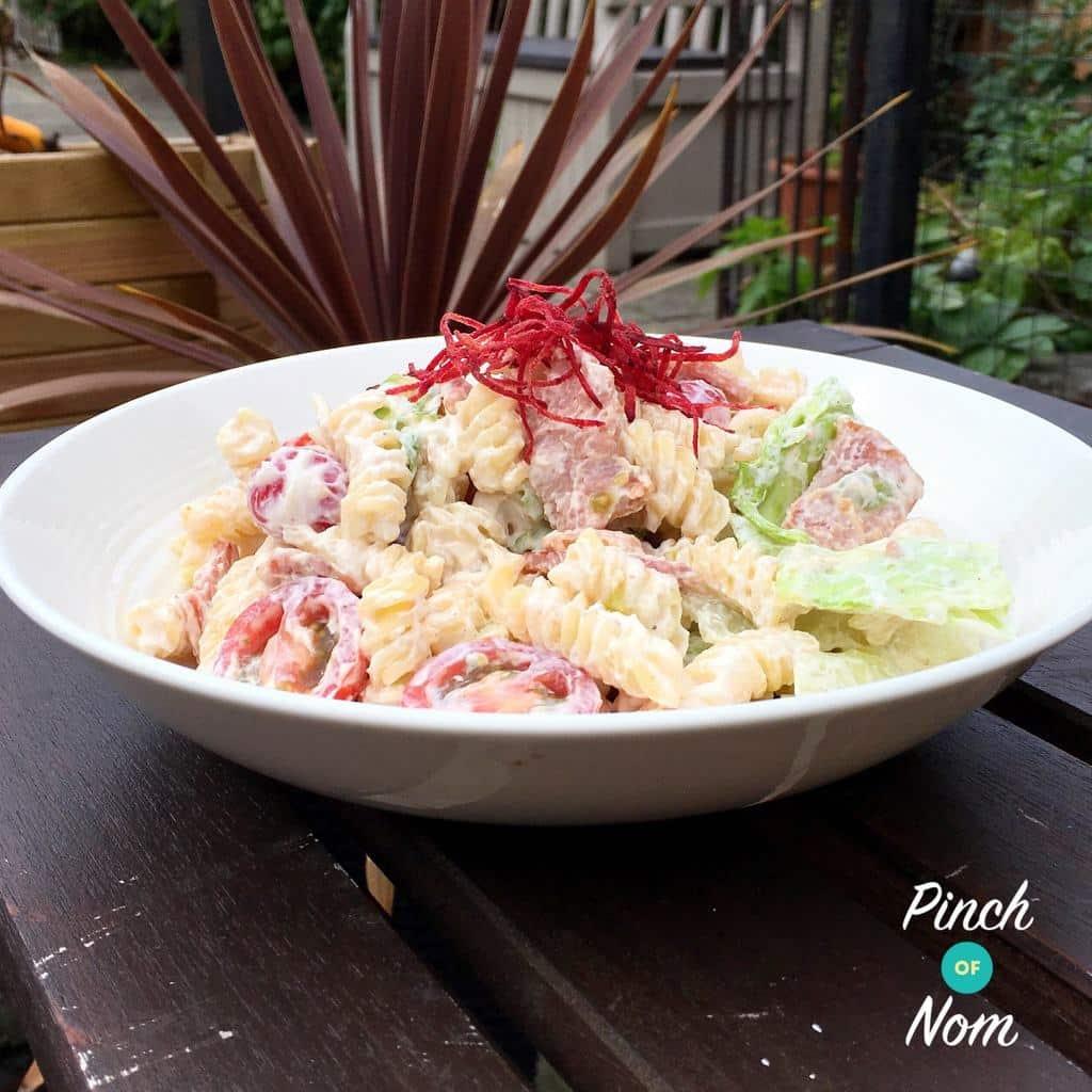 BLT Pasta Salad   Slimming & Weight Watchers Friendly