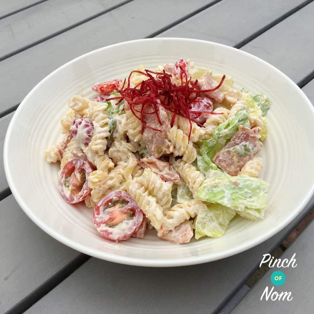 BLT Pasta Salad | Slimming & Weight Watchers Friendly