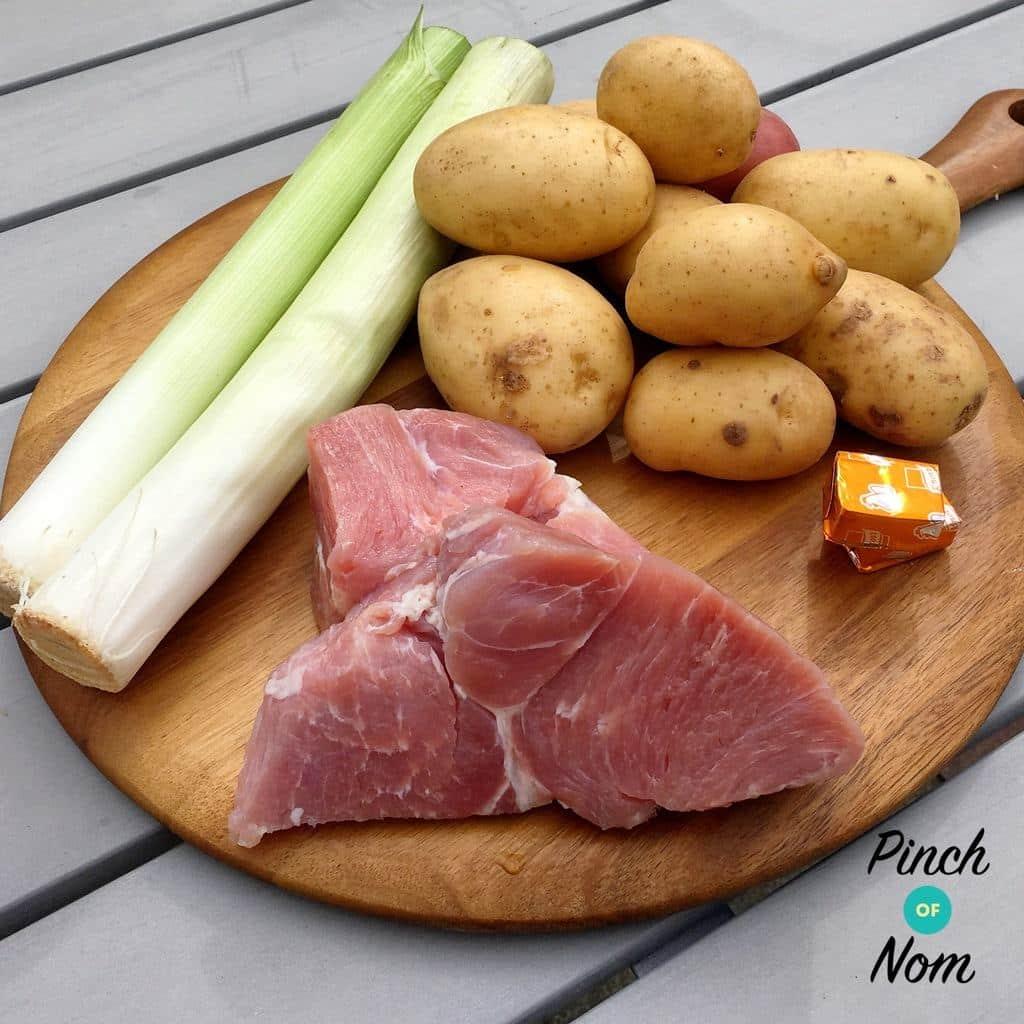 Slow Cooker Ham, Leek and Potato Soup | Slimming & Weight Watchers Friendly