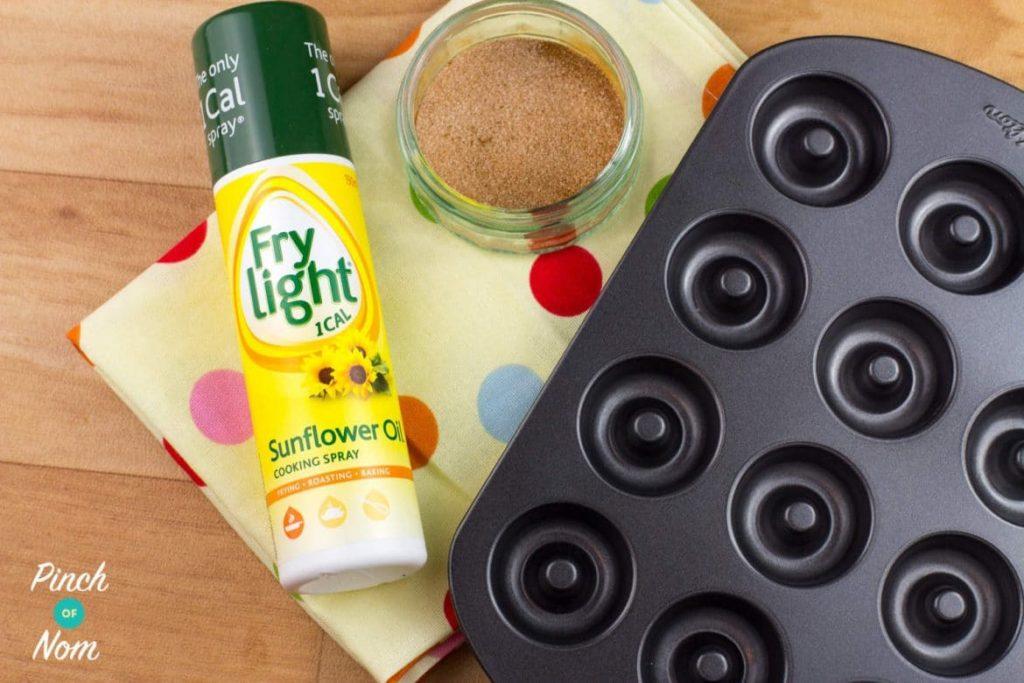 Pumpkin Spiced Latte Mini Doughnuts | Slimming & Weight Watchers Friendly