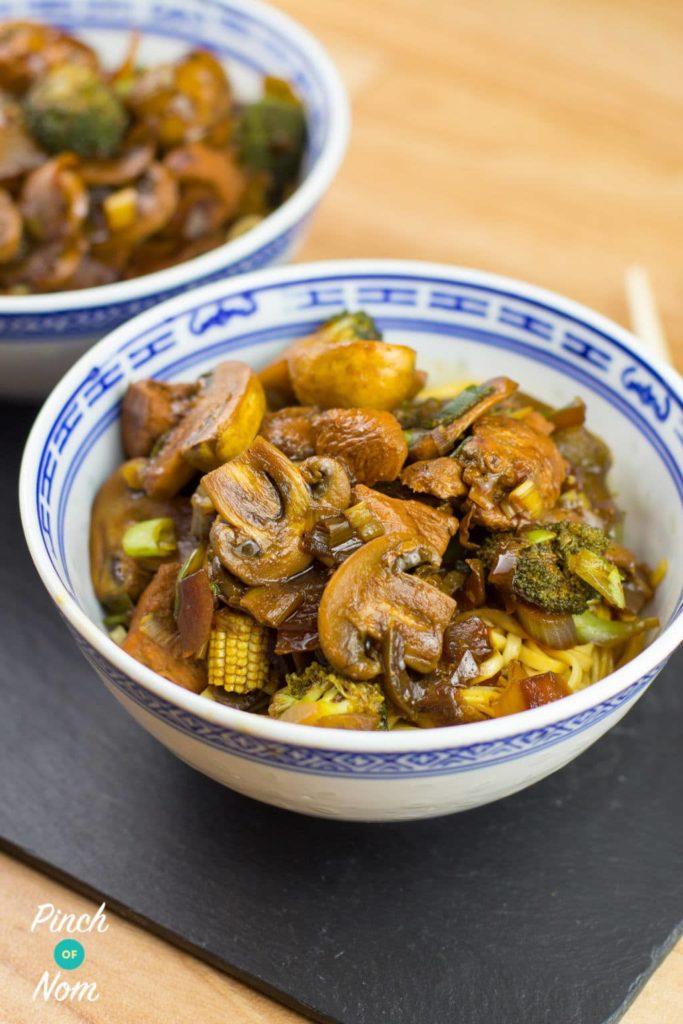 Chicken and Mushroom Fakeaway   Slimming & Weight Watchers Friendly