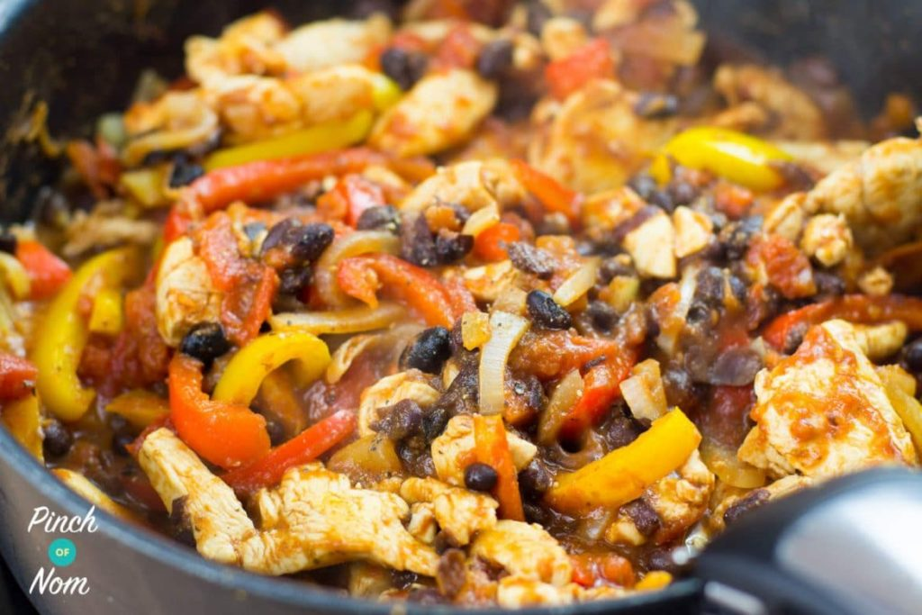 Chicken and Black Bean Mini Tortillas | Slimming World & Weight Watchers Friendly