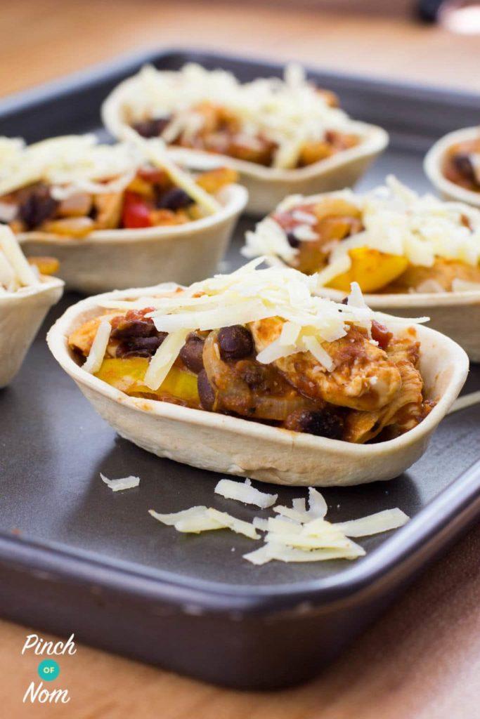 Chicken and Black Bean Mini Tortillas   Slimming & Weight Watchers Friendly