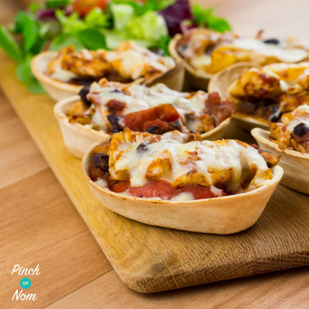 Low Syn Chicken and Black Bean Mini Tortillas | Slimming ...