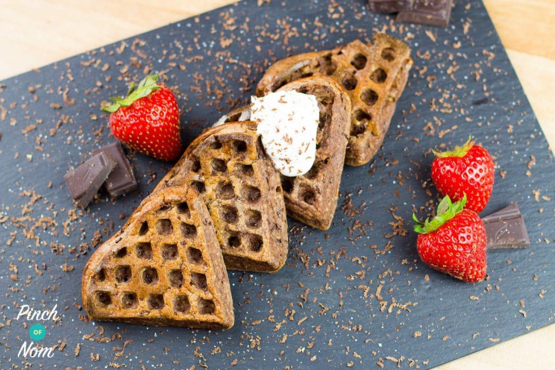 Top 6 Slimming World Breakfast Ideas - 1 Syn Chocolate Waffles
