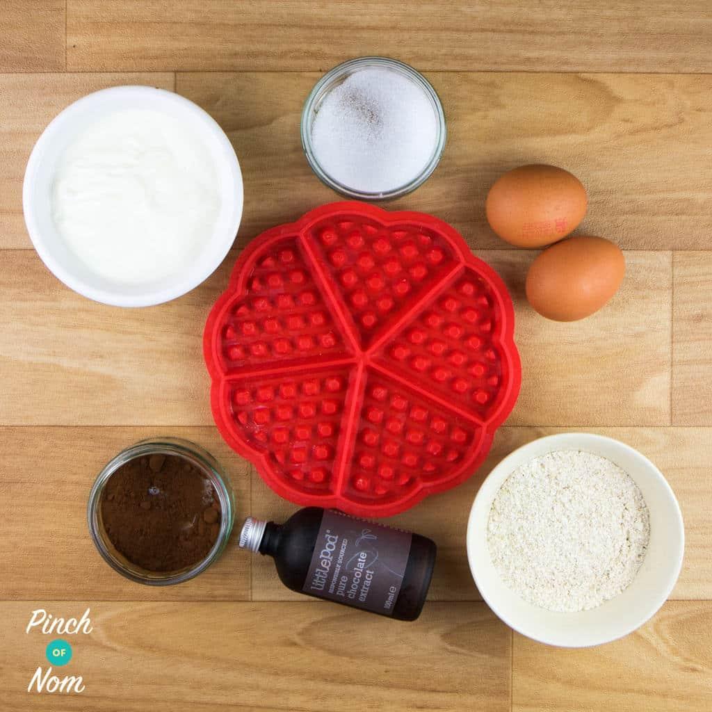 Chocolate Waffles | Slimming & Weight Watchers Friendly