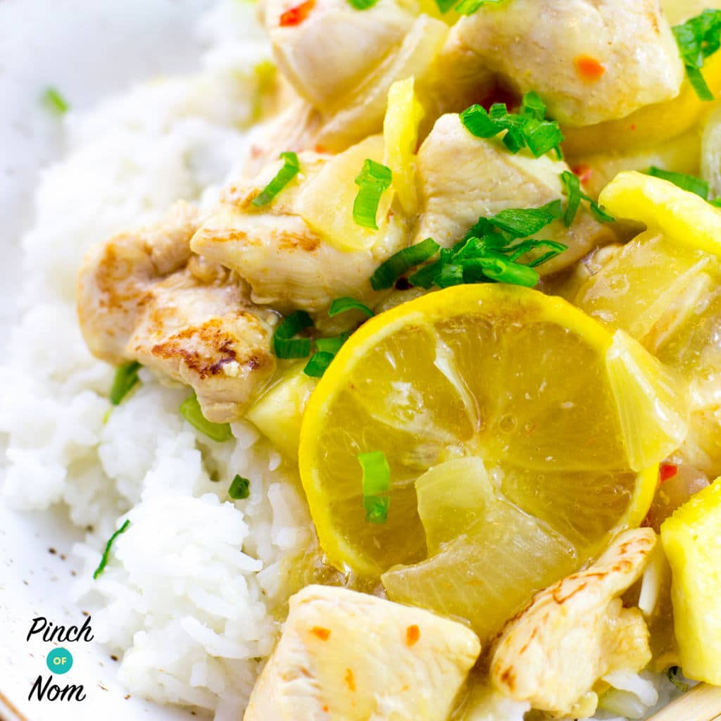 Lemon Chicken | Slimming & Weight Watchers Friendly