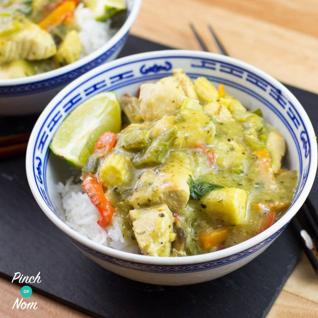 Thai Green Curry Pinch Of Nom