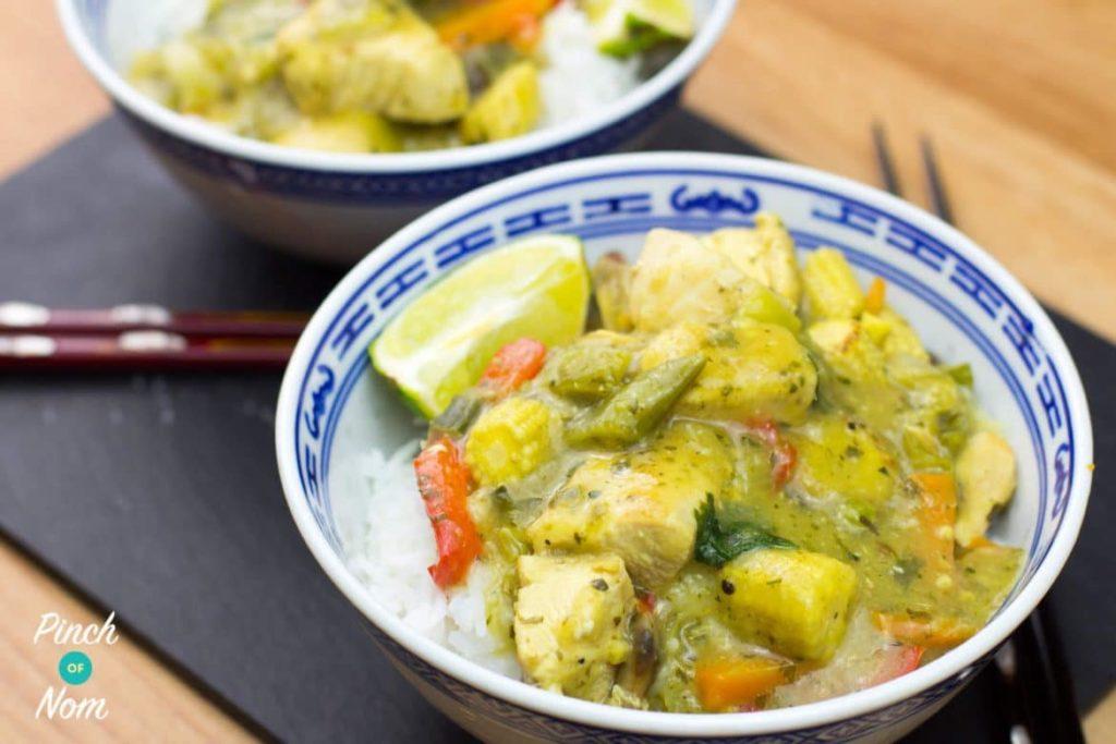 Thai Green Curry | Slimming World & Weight Watchers Friendly