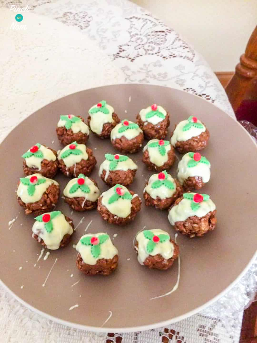 Rice Krispie Christmas Puds Slimming Weight Watchers Friendly
