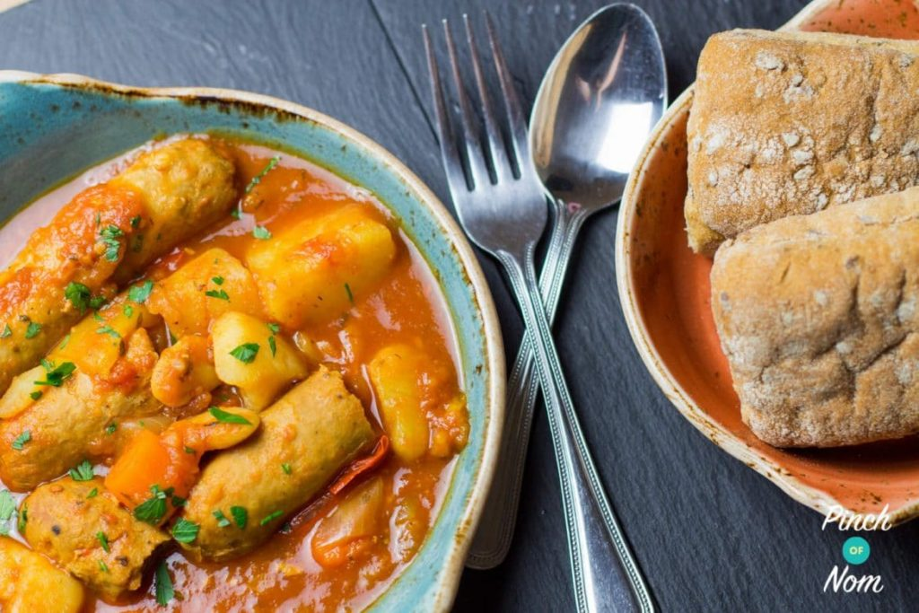 Sausage Casserole | Slimming World & Weight Watchers Friendly