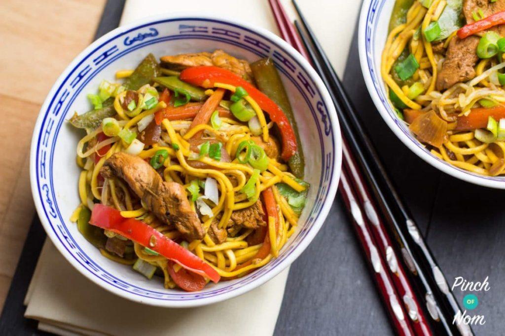 Chicken Chow Mein | Slimming & Weight Watchers Friendly