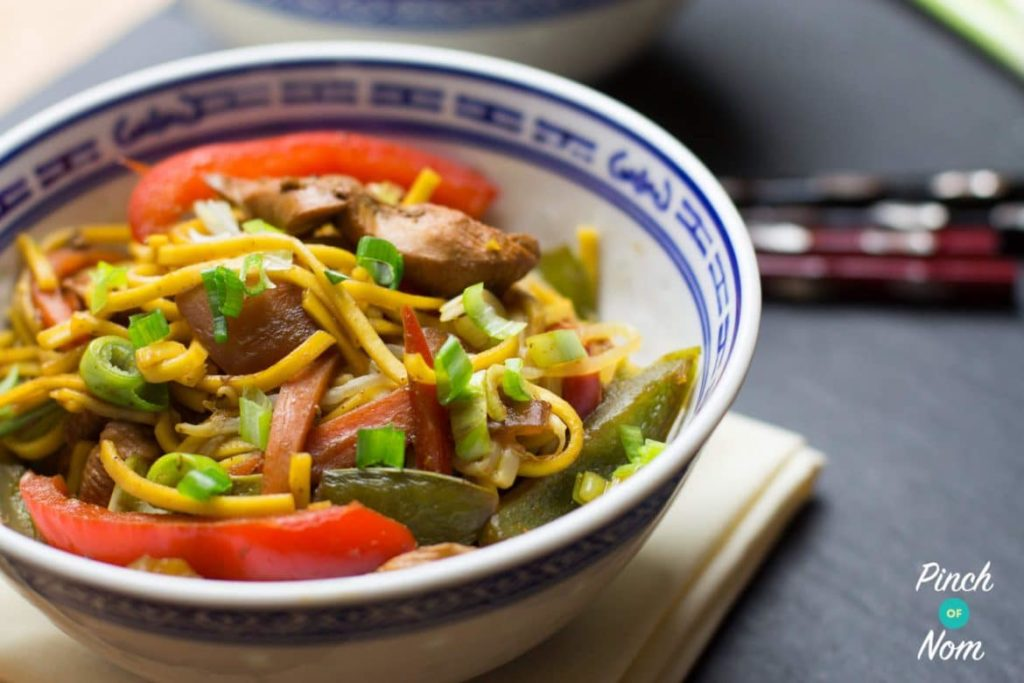 Chicken Chow Mein   Slimming & Weight Watchers Friendly