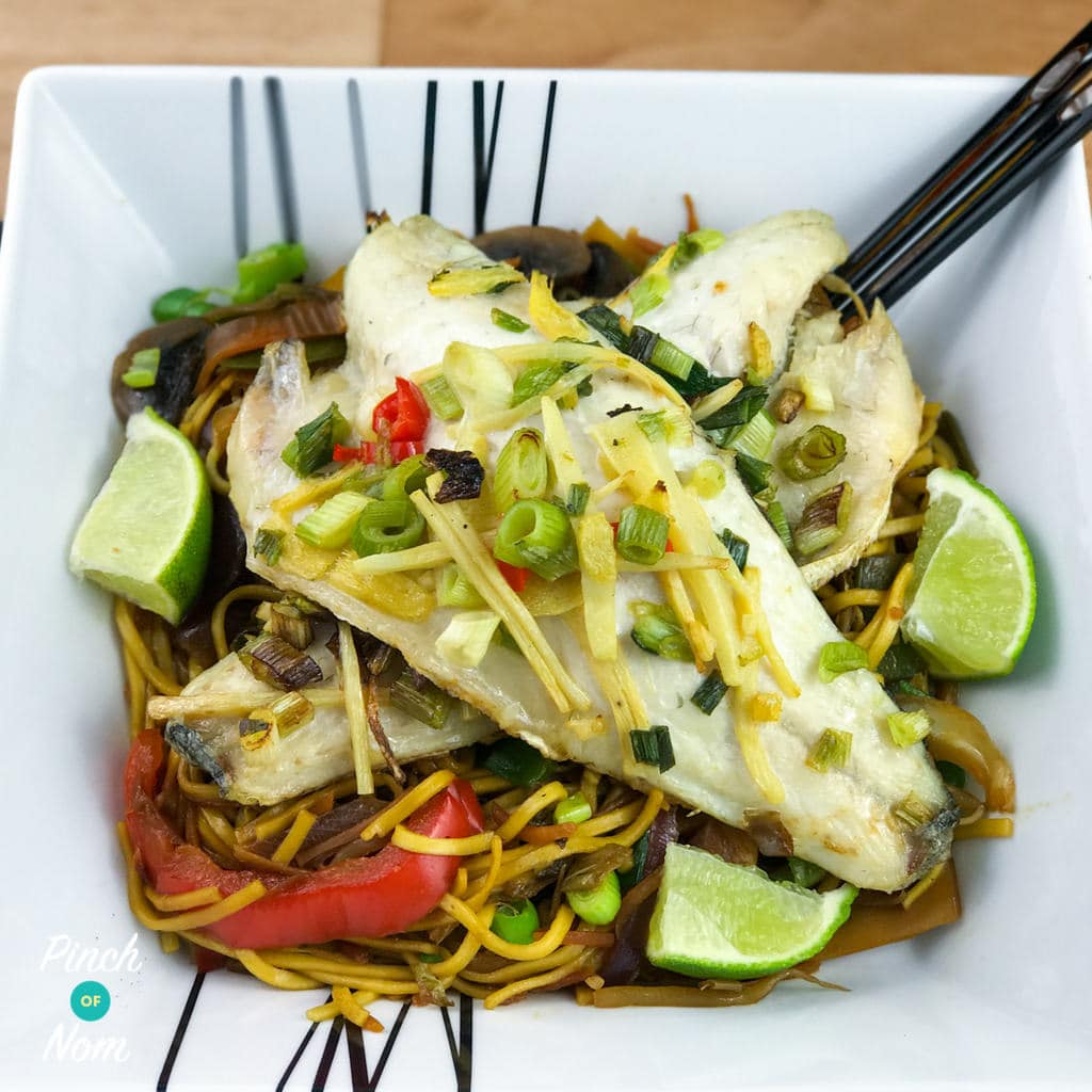 Syn Free Ginger Garlic And Chilli Seabass Slimming