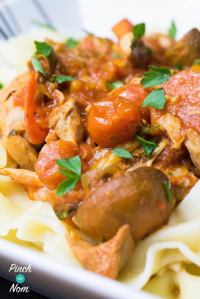 Slow Cooker Chicken Cacciatore   Slimming & Weight Watchers Friendly