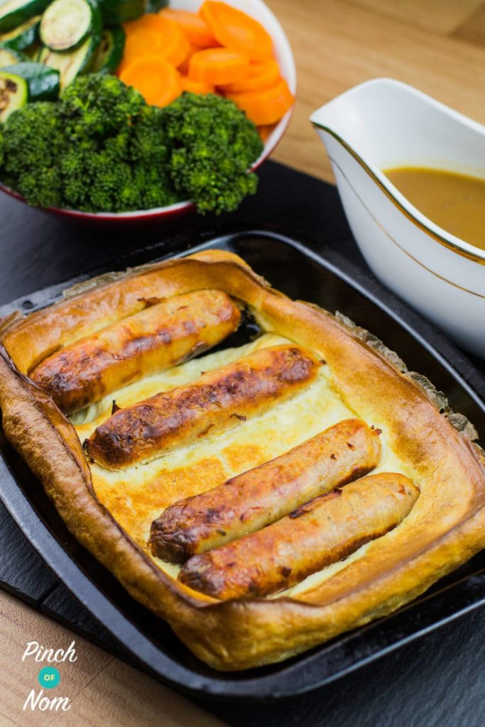 Toad In The Hole | Slimming & Weight Watchers Friendly