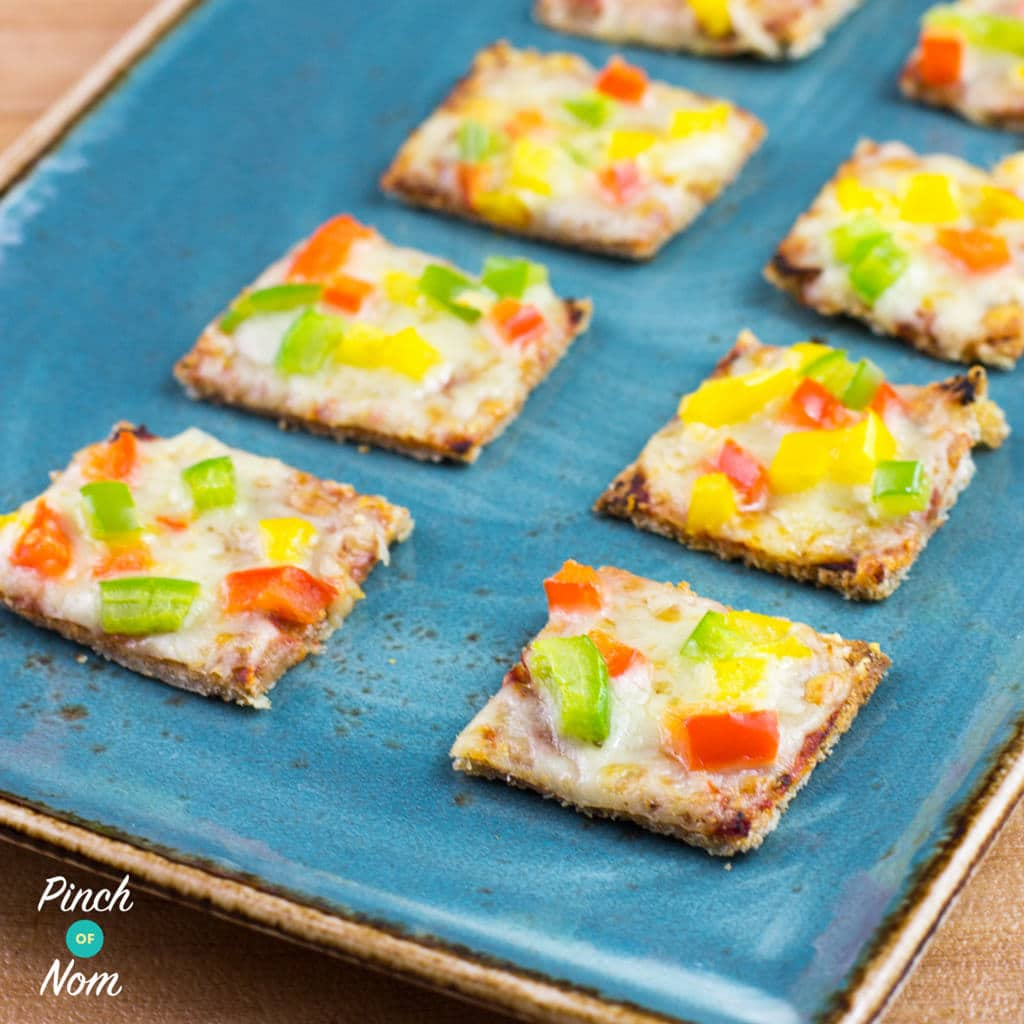1 Syn Each Mini Pizza Bites | Slimming World