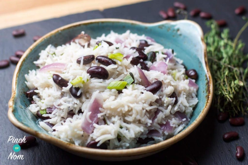 Jamaican Rice and Peas | Slimming & Weight Watchers Friendly
