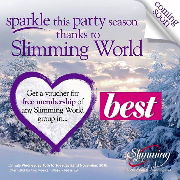 Slimming World Joining Voucher November 2016 Pinch Of Nom