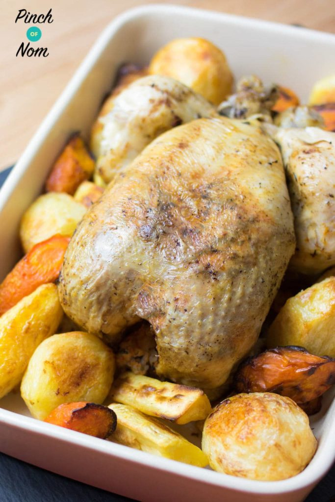 20 Minute Whole Chicken | Slimming & Weight Watchers Friendly
