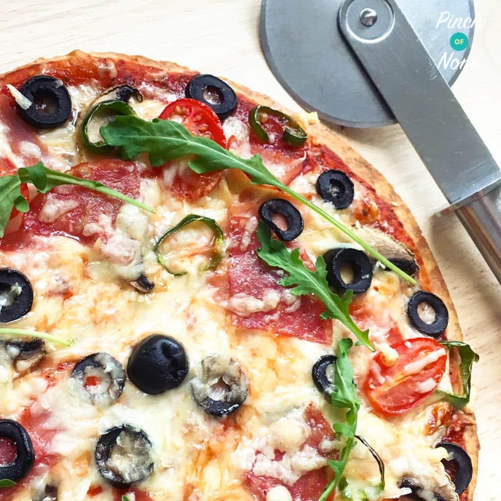 low syn pizza express romana la reine pizza slimming world pinch of nom. Black Bedroom Furniture Sets. Home Design Ideas