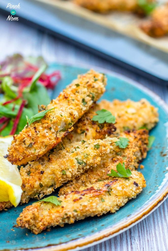 Chicken Goujons | Slimming & Weight Watchers Friendly