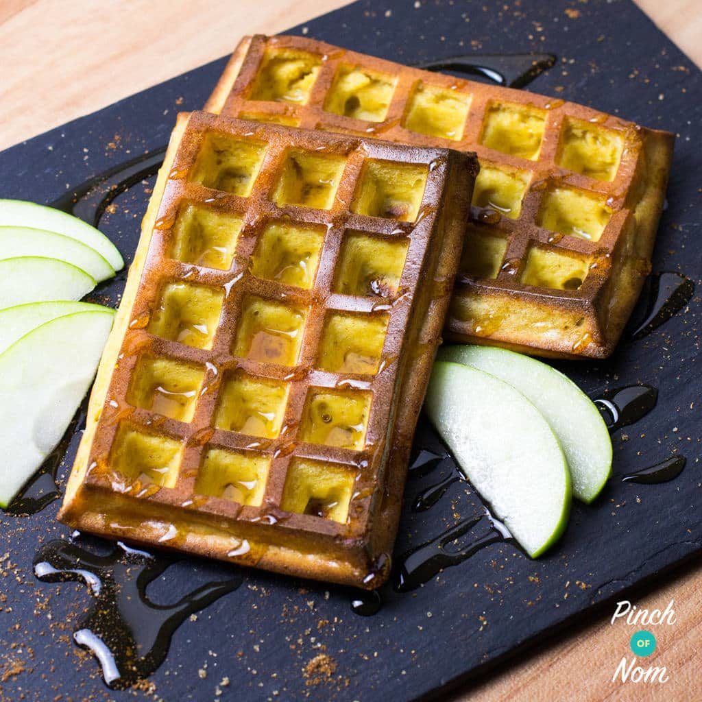 syn-free-apple-and-cinnamon-waffles