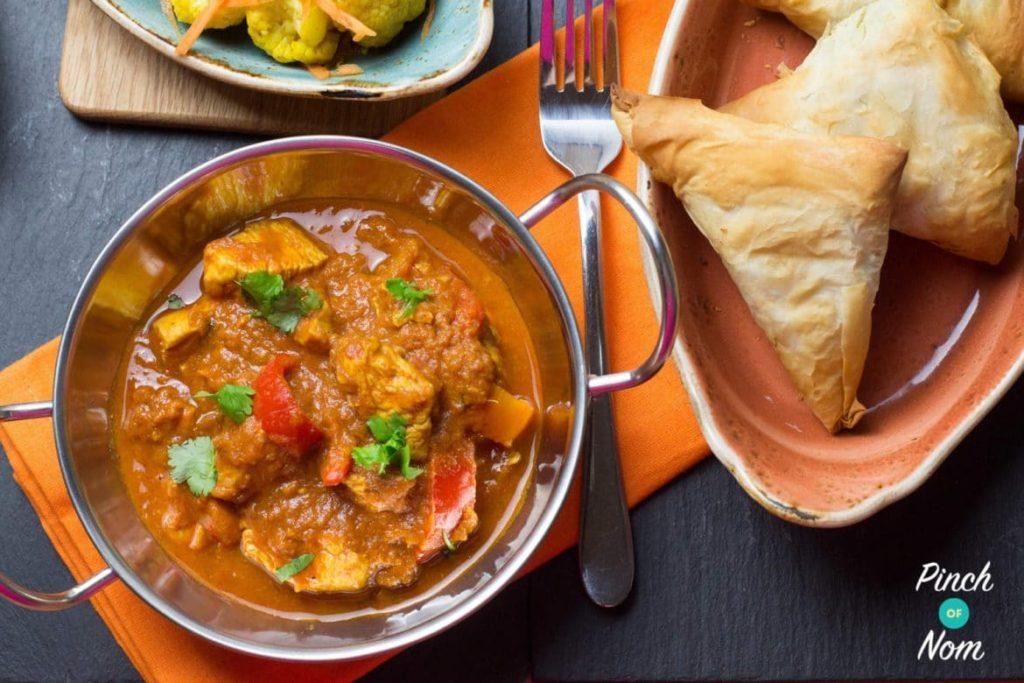 Chicken Balti Curry | Slimming & Weight Watcher Friendly