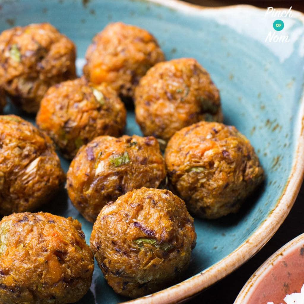 Sweet Potato Pakoras | Slimming & Weight Watchers Friendly