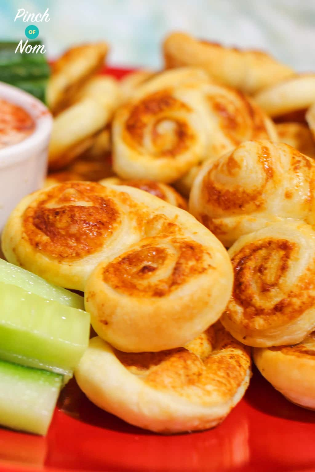 Cheese Palmiers | Slimming & Weight Watchers Friendly