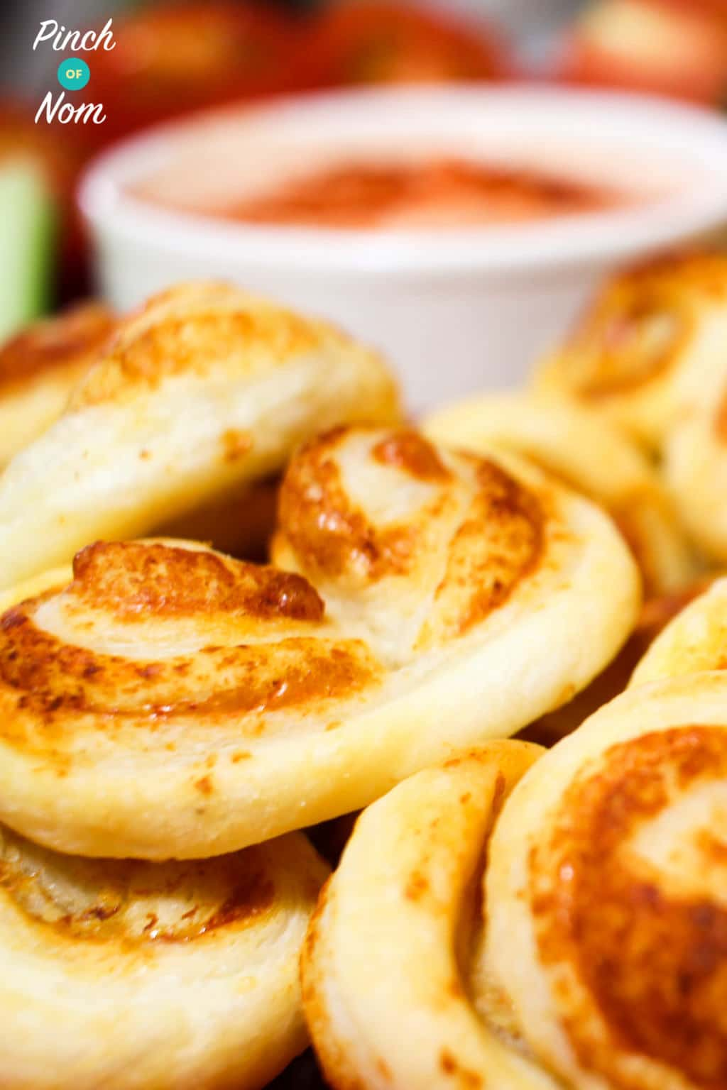 Low Syn Cheese Palmiers | Slimming World