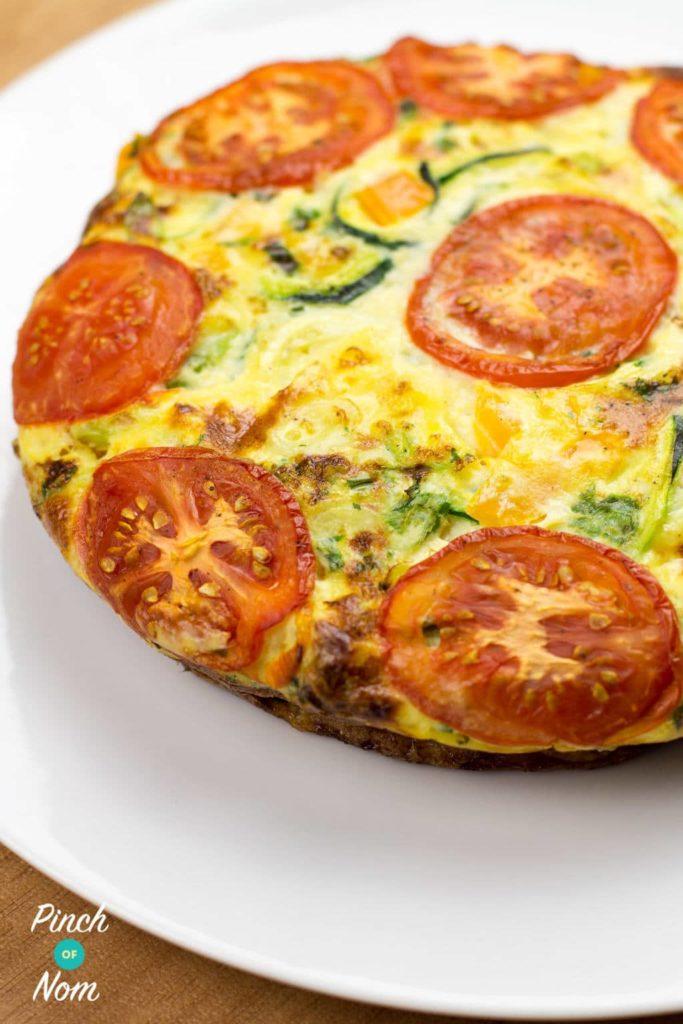 Spiralized Courgette Quiche | Slimming & Weight Watchers Friendly