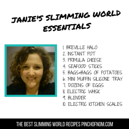 Janies Slimming World Essentials