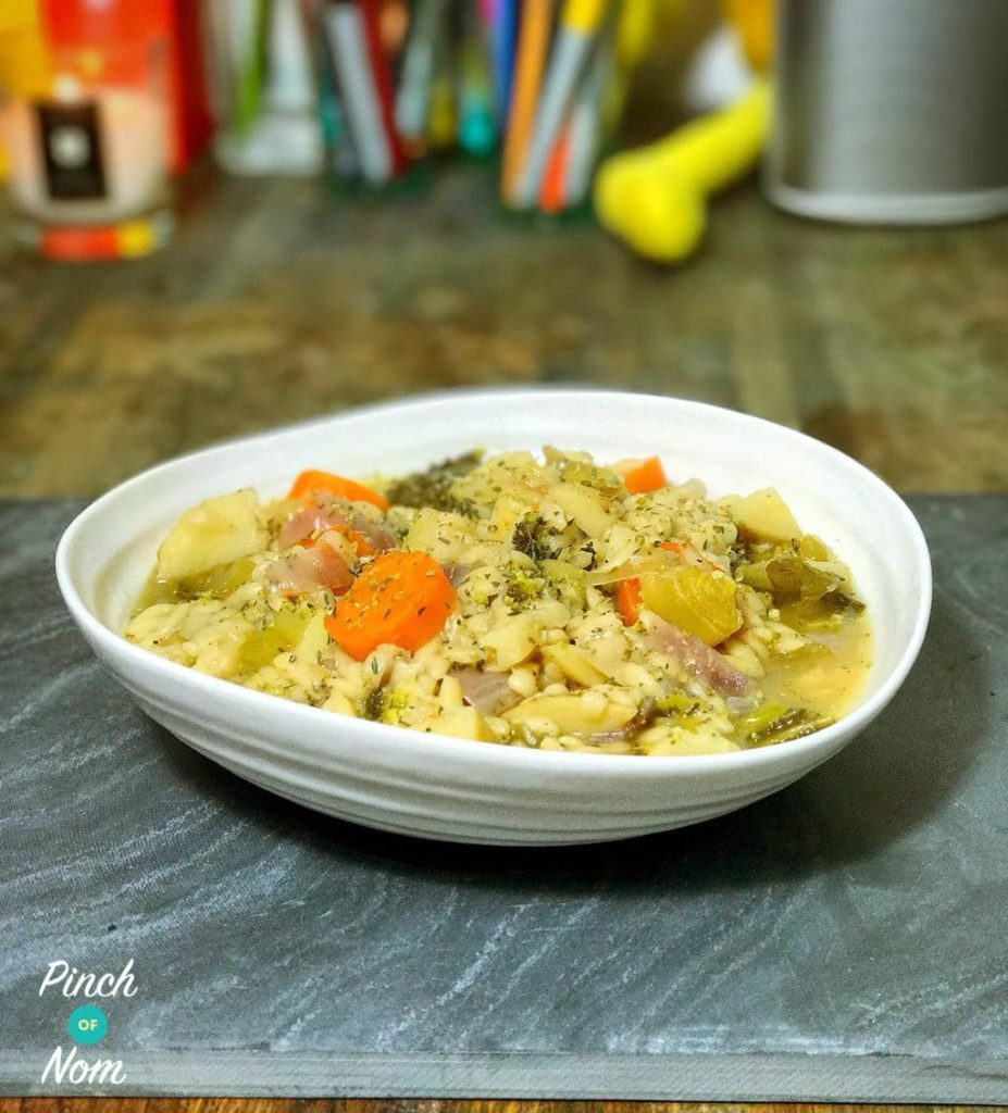 Vegetable Stew with Orzo | Slimming & Weight Watchers Friendly