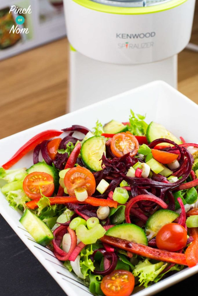 Spiralized Apple and Beetroot Salad | Slimming & Weight Watchers Friendly