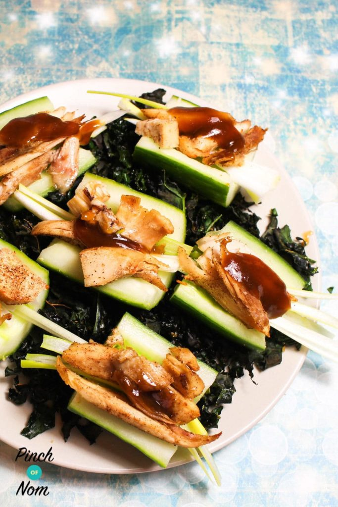 Hoisin Turkey Cucumber Cups | Slimming & Weight Watchers Friendly