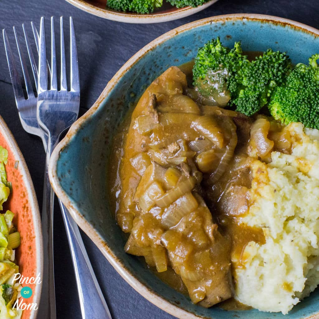 Syn Free-Liver-with-Onion-Gravy