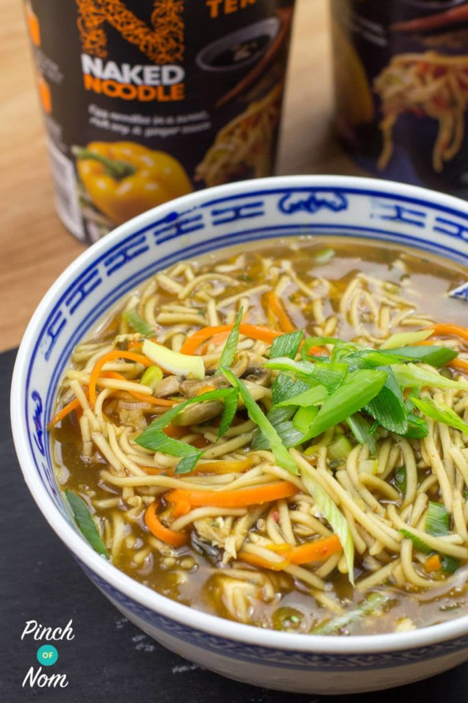 Chicken Teriyaki Noodle Soup | Slimming & Weight Watchers Friendly
