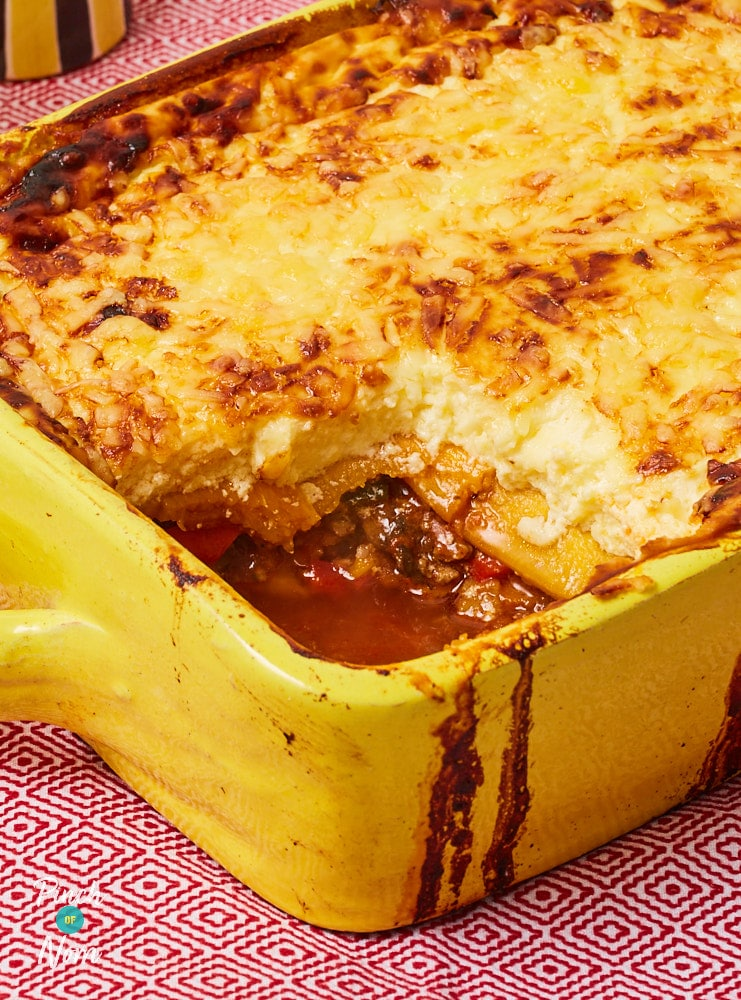 Butternut Squash Lasagne - Pinch of Nom Slimming Recipes