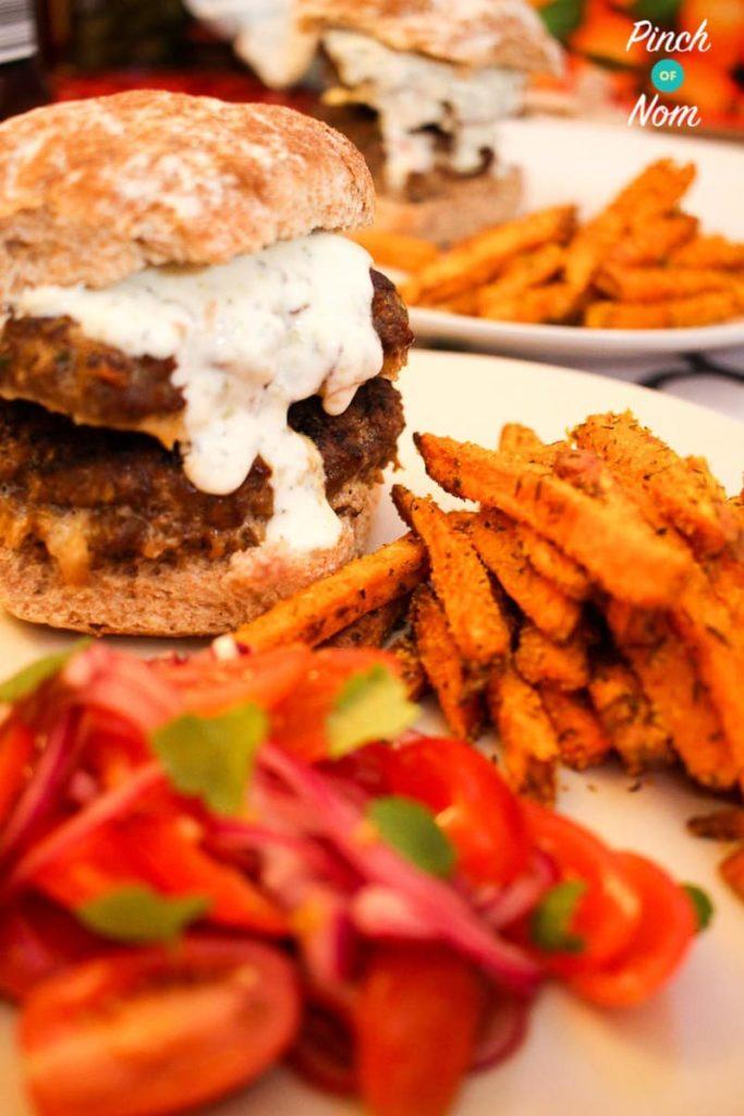 Low Syn Morrocan Lamb Burgers