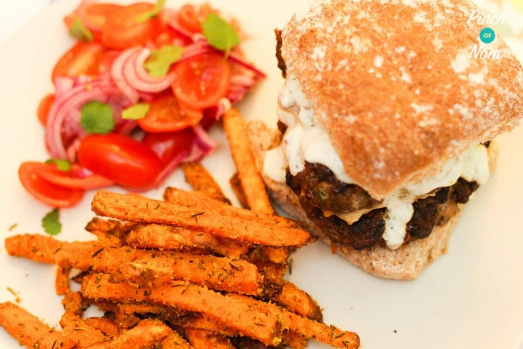 Morrocan Lamb Burgers | Slimming & Weight Watchers Friendly