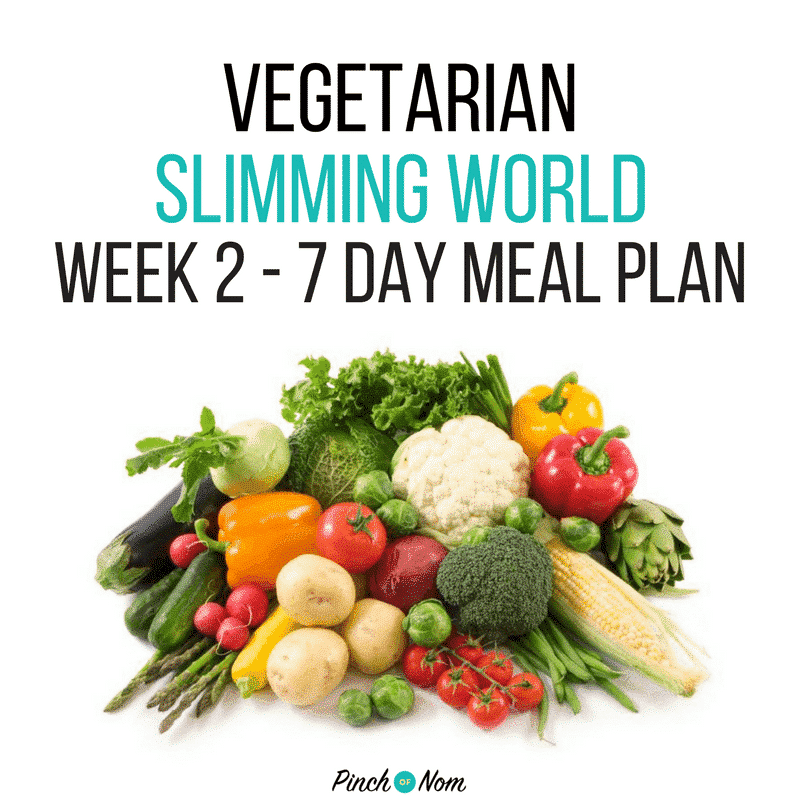 slimming world 7 day meal plan SP extra easy week 3