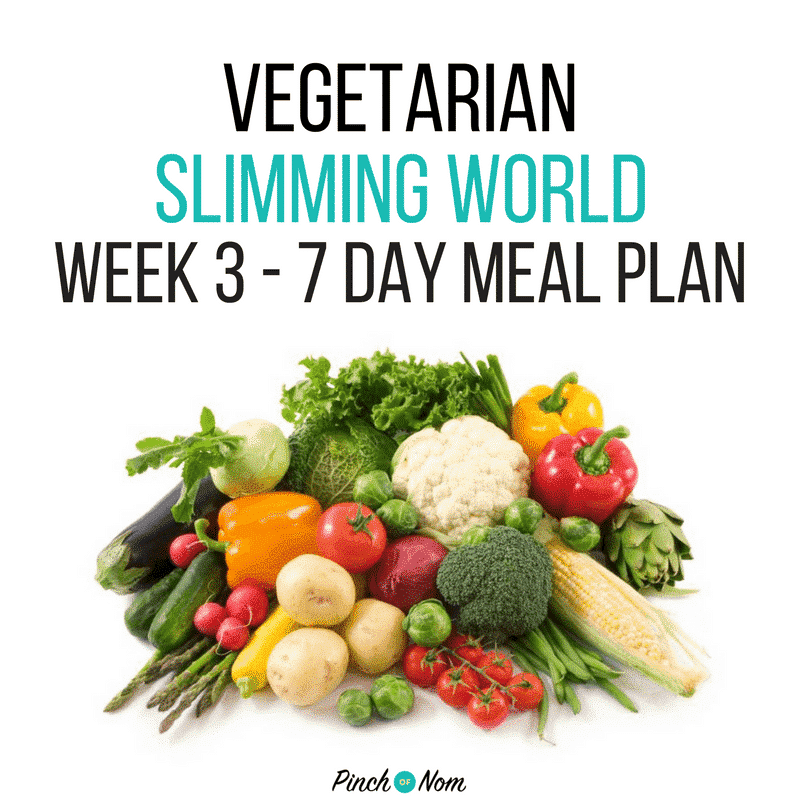 slimming world 7 day meal plan vegetarian week 3