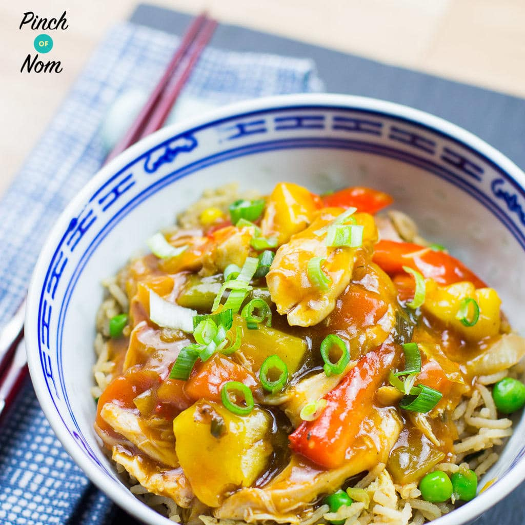 Syn Free Instant Pot Sweet & Sour Chicken | Slimming World