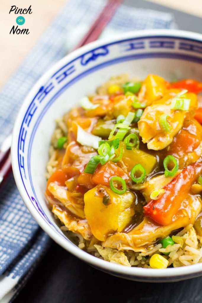 Syn Free Instant Pot Sweet And Sour Chicken takes