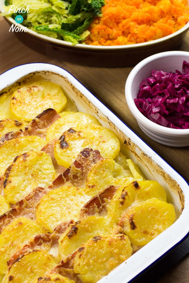 Syn Free Spanish Pork and Potato Bake
