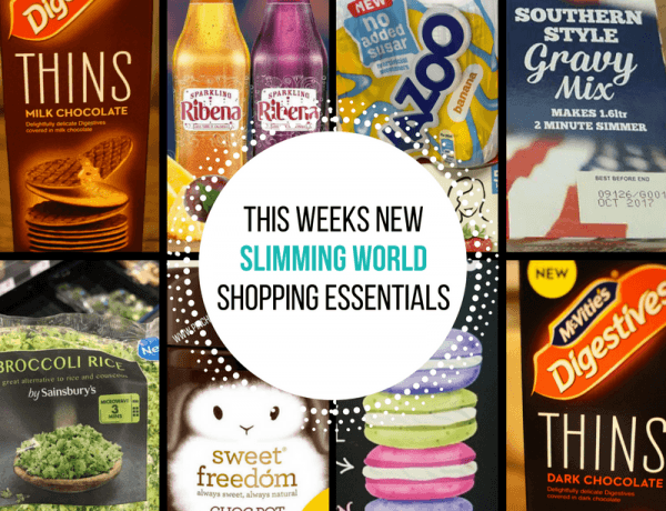 New Slimming World Shopping Essentials - 17/1/16